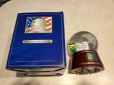 My American Hero Flatback Musical Photo Globe United States Army Nib