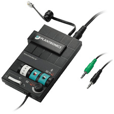 Plantronics MX10 HEADSET SWITCHER for Telepone & PC with Dual 3.5mm Plug Cable