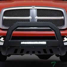 Topline For 2002 2009 Dodge Ram Avt Aluminum Led Bull Bar Guard Textured Black Fits 2005 Dodge Ram 1500