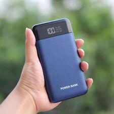Tragbare 50000mah Power Bank LCD LED 2 USB Zusatzakku Ladegerät Für Mobile Phone
