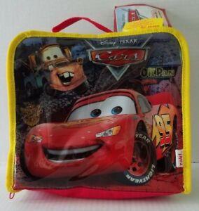 ZAK Disney Pixar Cars Insulated Lunch Bag Box NWT