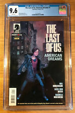 The Last of Us: American Dreams #1, (1st print), CGC 9.6, graded NM+