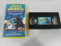 LOS SIMPSON CONTRAATACAN BART WARS VHS COLECCIONISTA EDICION ESPAÑOLA