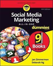 Social Media Marketing All-in-One for Dummies by Jan Zimmerman and Deborah Ng...