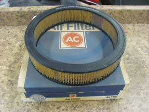 NEW AC A355C Air Filter Ford 351 390 429 Mustang Torino 60's-70's V8