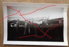 original Foto  Jagdflugzeug ME 109  Spanien