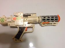 2004 Lucasfilm Star Wars White Gen. Grievous Blaster Gun ~lights & sound~