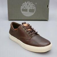 Timberland Men's 8.5 Advanced 2.0 Cupsole Dark Brown Leather Oxfords TB0A15EO