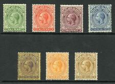 Falkland Is SG73/79 1921 Set to 1/- Very fine mint