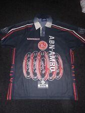 Ajax away football shirt 1997-1998 L Excellent Condition - Litmanen 10