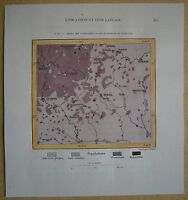 1880 Perron map DISTRIBUTION OF CATHOLICS AND ORTHODOX IN LITHUANIA (#87)