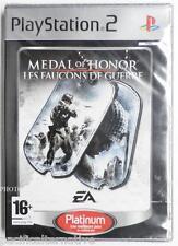 NEUF - jeu MEDAL OF HONOR LES FAUCONS DE GUERRE sur playstation 2 sony PS2 new