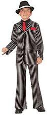Gangster Guy Roaring 20's Mob Boss Mafia Fancy Dress Up Halloween Child Costume