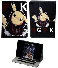For Apple iPad 2 3 4 Happy Pokemon Pikachu Pokeball Stand Case Cover Sleep-Wake