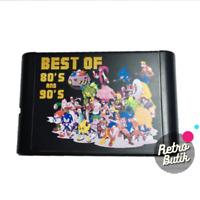 196 in 1 Game  For Sega Genesis MegaDrive 16 bit Game Cartridge For PAL and NTSC