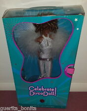 Barbie Celebrate Disco AA African American Doll Musical Stand Steffie Face 2008