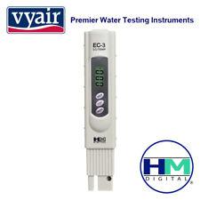 Vyair HM Digital EC-3: probador conductividad eléctrica y de temperatura con Estuche