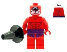 Custom Designed  Minifigure Supervillain Klaw Printed on LEGO Parts
