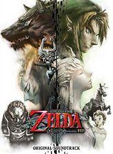 The Legend of Zelda: Twilight Princess HD Original Soundtrack Legend Of Zelda CD