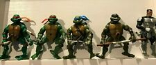 Teenage Mutant Ninja Turtles (Lot Of  5) 2003 Playmates Toys (MMT)