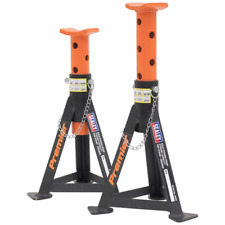 Sealey AS3O Axle Stands (Pair) 3tonne Capacity per Stand Orange
