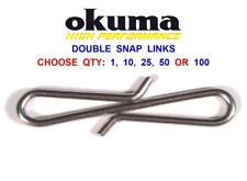 TronixPro Casting Snap Sea Fishing Lead Link and Bait Clips Max Pack X 100