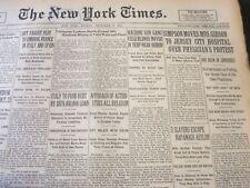 1926 NOVEMBER 8 NEW YORK TIMES - MACHINE GUN GANG KILLS ILLINOIS MAYOR - NT 6536