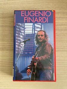 Eugenio Finardi _ Live RTSI Svizzera 1979 _ VHS _ 1992 Ricordi Svizzera
