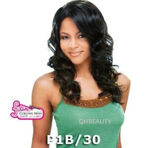 Freetress Equal Synthetic Invisible Part Lace Front long wavy Hair Wig - Meagan
