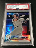 GLEYBER TORRES 2018 TOPPS CHROME #31 REFRACTOR ROOKIE RC PSA 10 YANKEES (B)