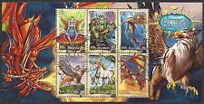 Australia 2011 MYTHICAL CREATURES set 6 Fine Used in MiniSheet SG MS3658