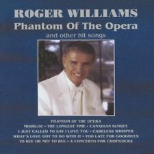New: ROGER WILLIAMS - Phantom Of The Opera (And Other Hit Songs) CD