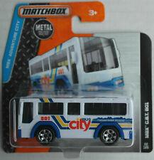 Matchbox City Bus MBX C.B.T. 801 weiß/blau Neu/OVP Omnibus Autobus Mattel ÖPNV