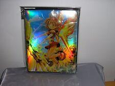 TRADING CARD FOLDER FLOWER ANGEL MAX PROTECTION YUGIOH POKEMON ETC