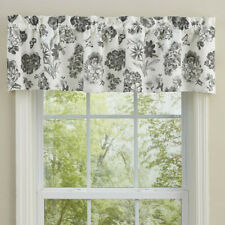 "1 Geranium Cotton Lined Floral Country Farmhouse Window Valance 60"" x 14"""