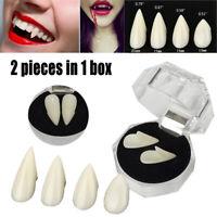 Halloween False Tooth Cosplay Dentures Zombie Vampire Ghost Devil Fangs Teeth