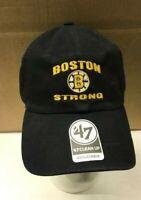 Bruins  Boston Strong  47 brand cap NEW unused