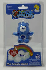 Grumpy Bear World's Smallest Care Bear Plush - Blue - NIP