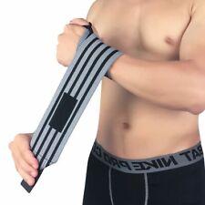 1Pc Weightlifting Wristband Wrist Wraps Bandages Brace Powerlifting Gym Straps