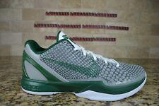 NEW Nike Zoom Kobe 6 VI Gorge Green 429659 009 Size 9 White RARE