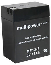 Multipower Bleigel Akku MP13-6 6V / 13000mAh