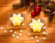 "LED-Wachslichter-Set ""Snow""   54 Teile!LED-Beleuchtung Lichterdeko * NEU *"