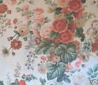 CLARENCE HOUSE Jean Monro Beauchamp Linen Floral Pink