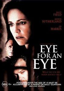 Eye For An Eye DVD Kiefer Sutherland  Sally Field - RARE REGION 4 AUSTRALIA