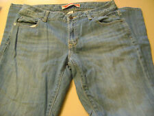 SHARP LADIES/WOMENS GAP CURVY FLARE JEANS-SIZE 8-CLEARANCE