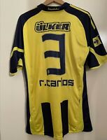 Maglia Fenerbahce Roberto Carlos Match Worn Player Issued