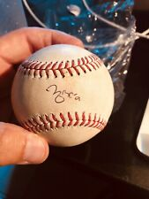 Signed Game Used Yadier Molina Double -MLB hologram Game/Auto !st Ballot Catcher