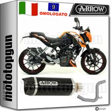 ARROW KIT SCARICO OMOLOGATO THUNDER CARBY ALLUMINIO NERO KTM DUKE 125 2016 16