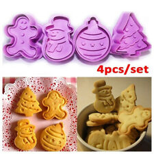 Gingerbread Man Fondant Biscuit Christmas Cake Mold Baking Mould Cookie Cutter