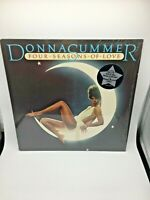 Donna Summer - Four Seasons of Love (1976) Vinyl LP Record 7038 LP W/Poster